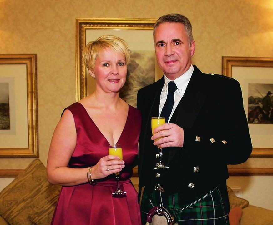 Wendy Kirkness & Jamie Robertson