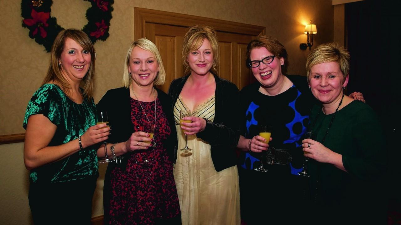 (L-R) Debbie Tinney, Suzi Matheson, Freyja King-MacGregor, Gillian Gunn, Janine Webb