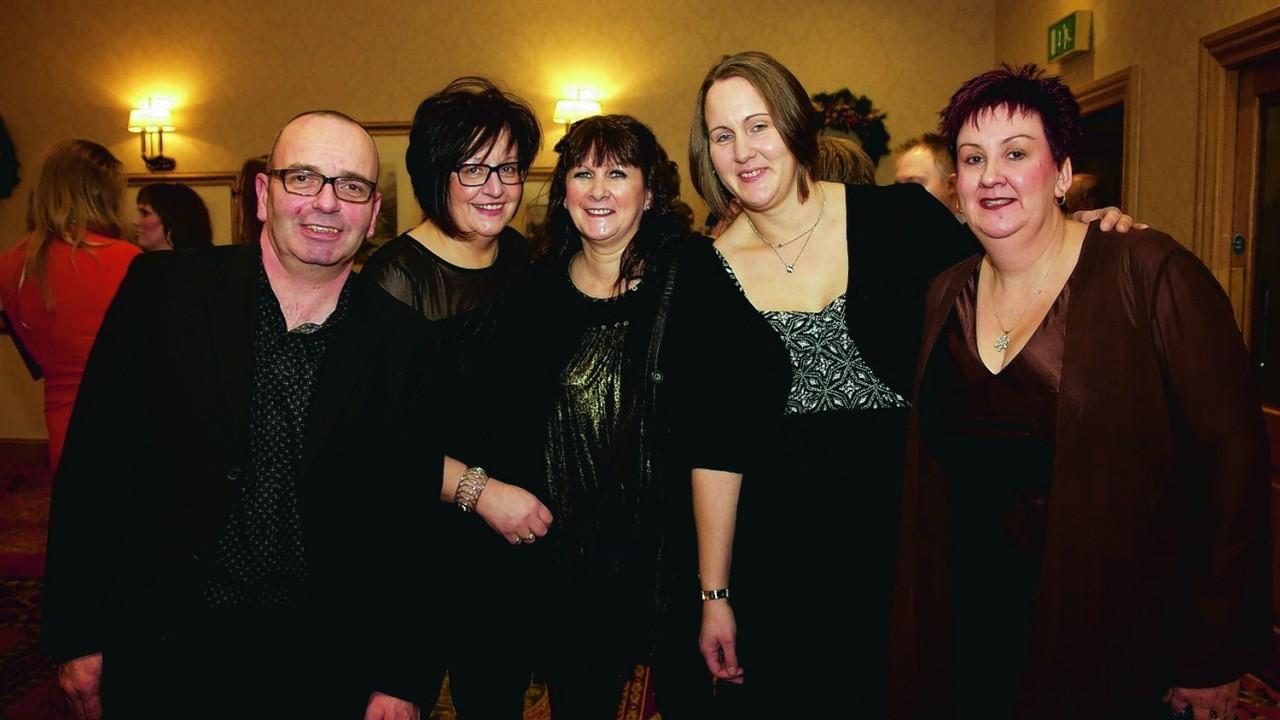 (L-R) Sean Binding Lorna Binding, Irene MacLeod Siobhan Thomson & Fiona Ross
