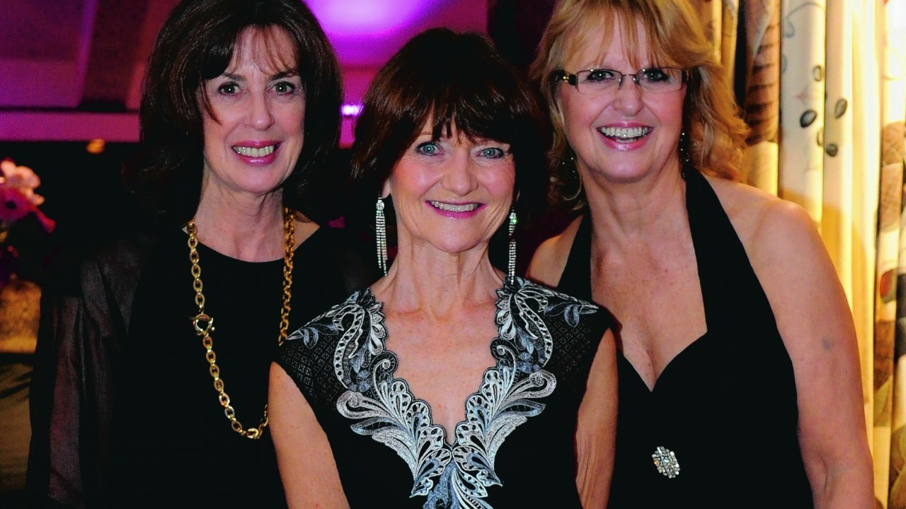 Doreen Douglas, Barbara Lumsdun and Penny Buchanan.