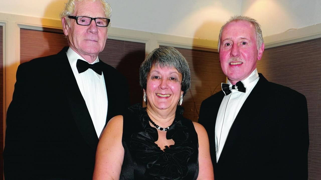 James Donald, Christine Bateman and Danny Donald.