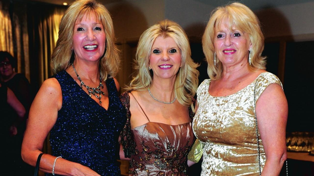 Gill Smith, Fiona Drummond and Lorraine Reynolds.