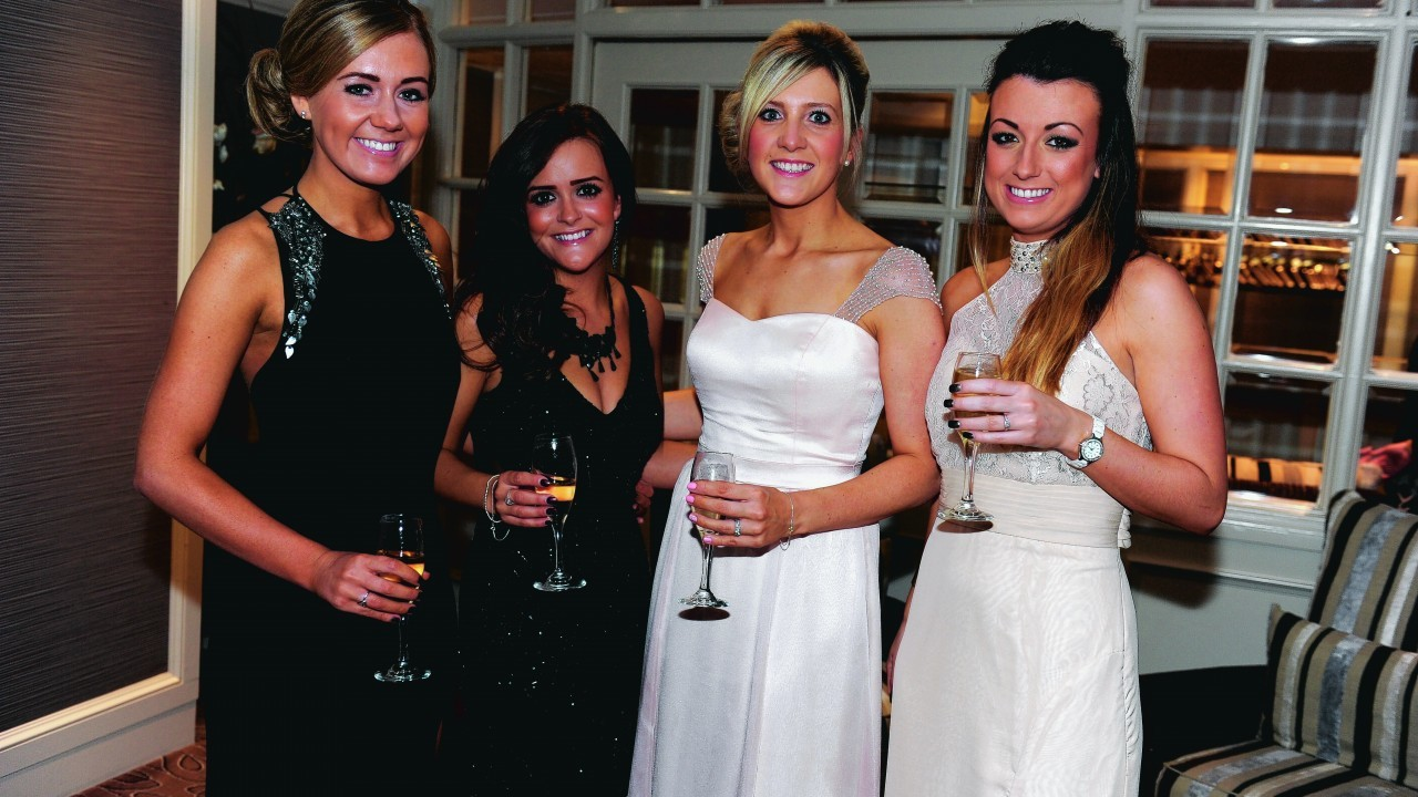 Gillian Emmerson, Chery Mitchell, Kirsty Findlay and Steph Burnside.