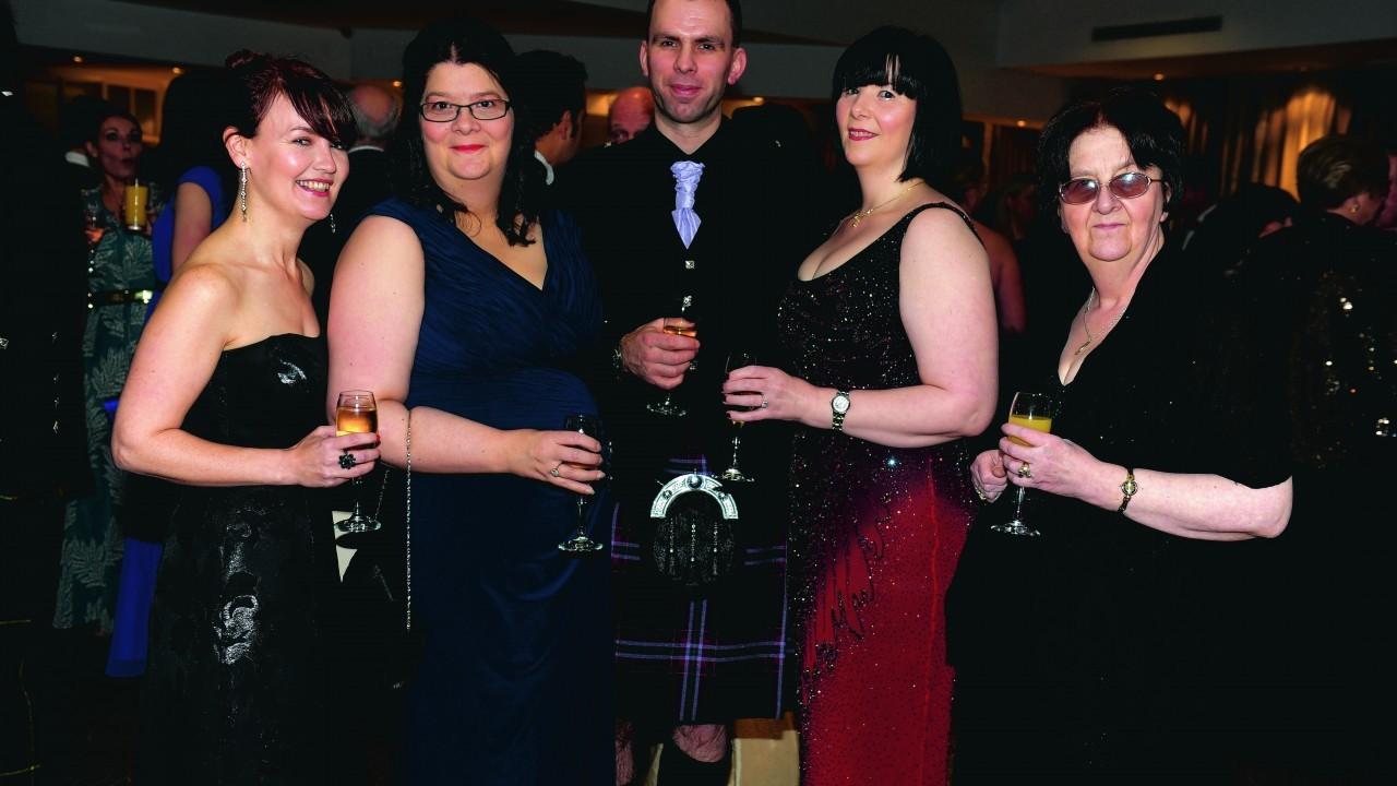 Wendy Ashton, Jenny Stewart, Martin Brown, Michelle Fraser and Jenny Fraser.