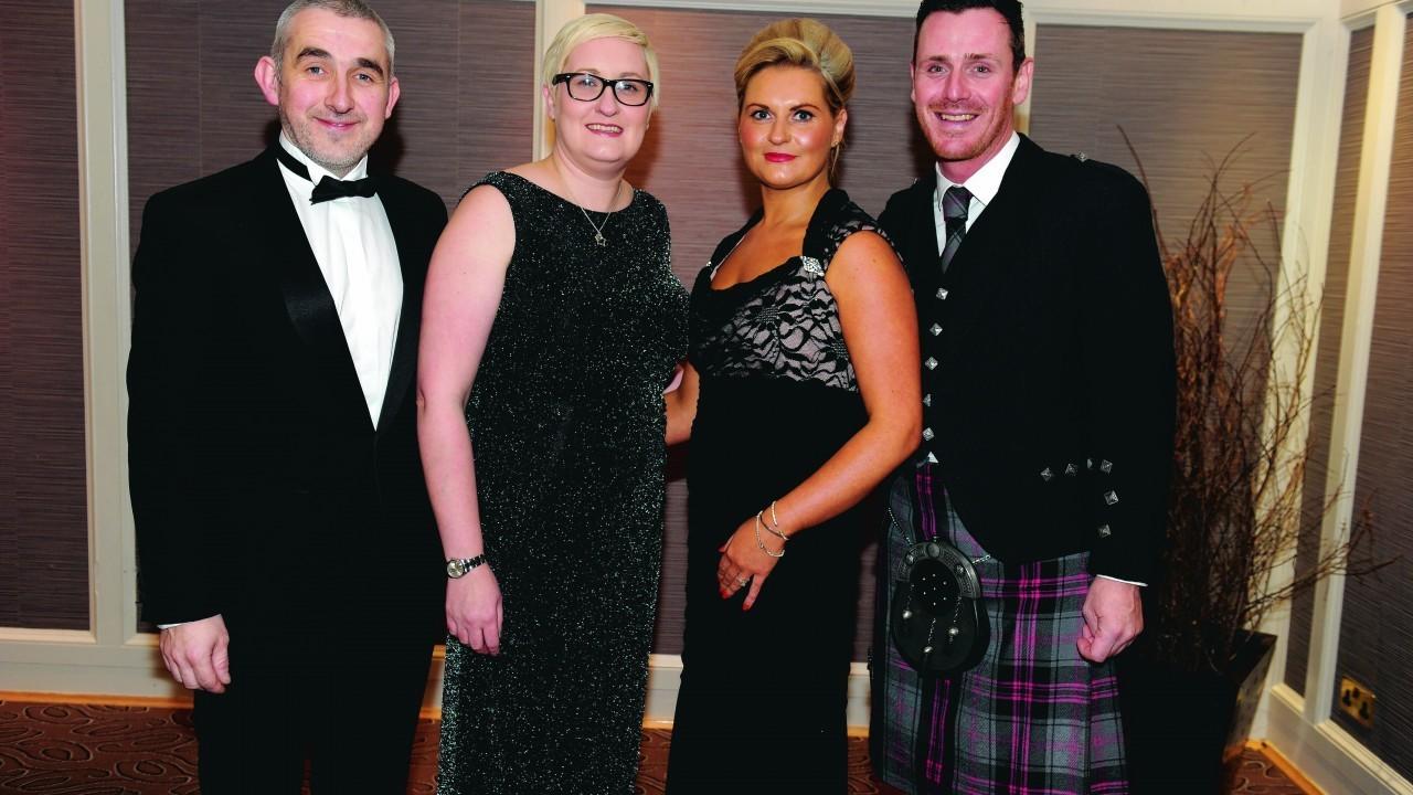 Zaz Urquhart, Louise Urquhart, Gillian Donald and Andy MacIntosh.
