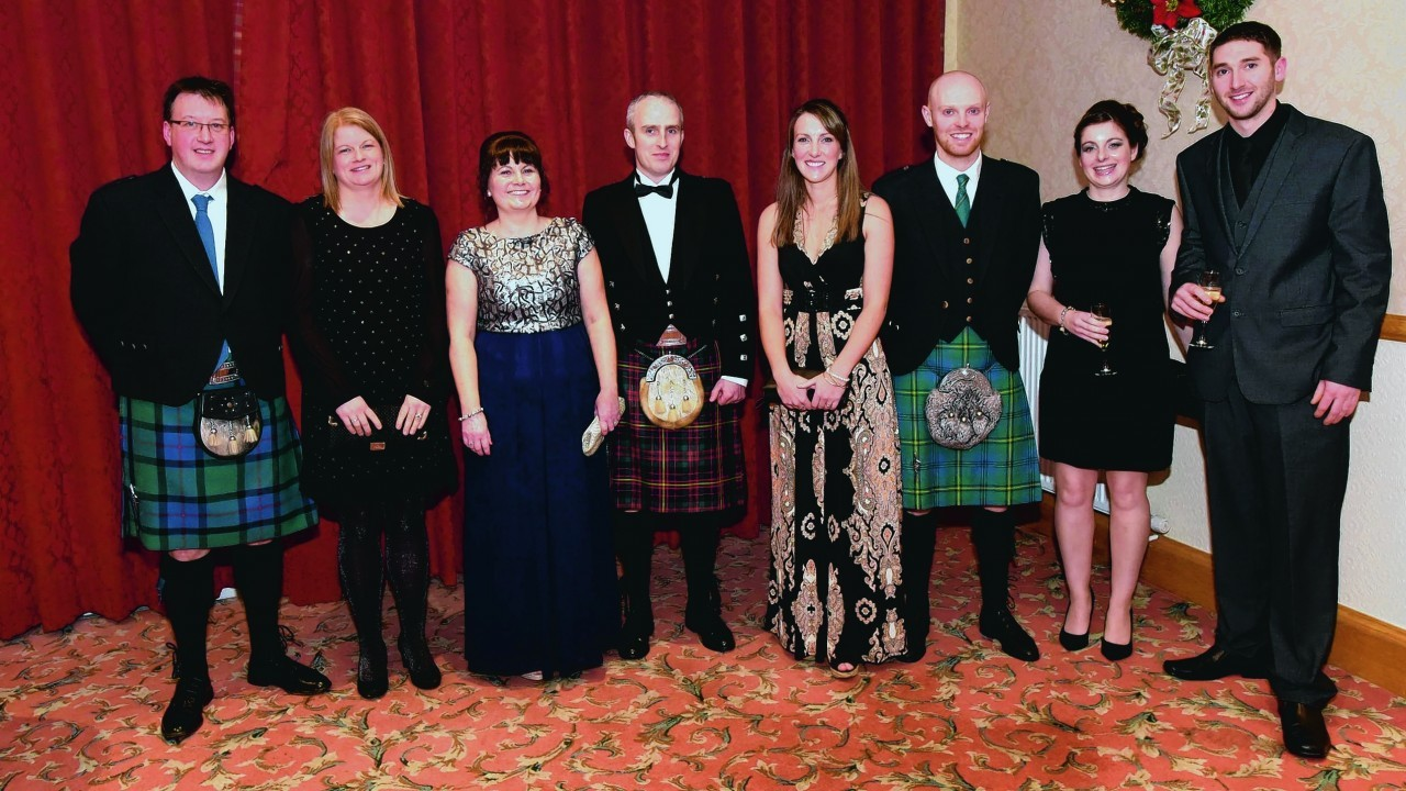 James and Madelene Simpson, Lorraine and Gergor Cameron, Katie and Neil Johnstone and Angela and Brett Grant.