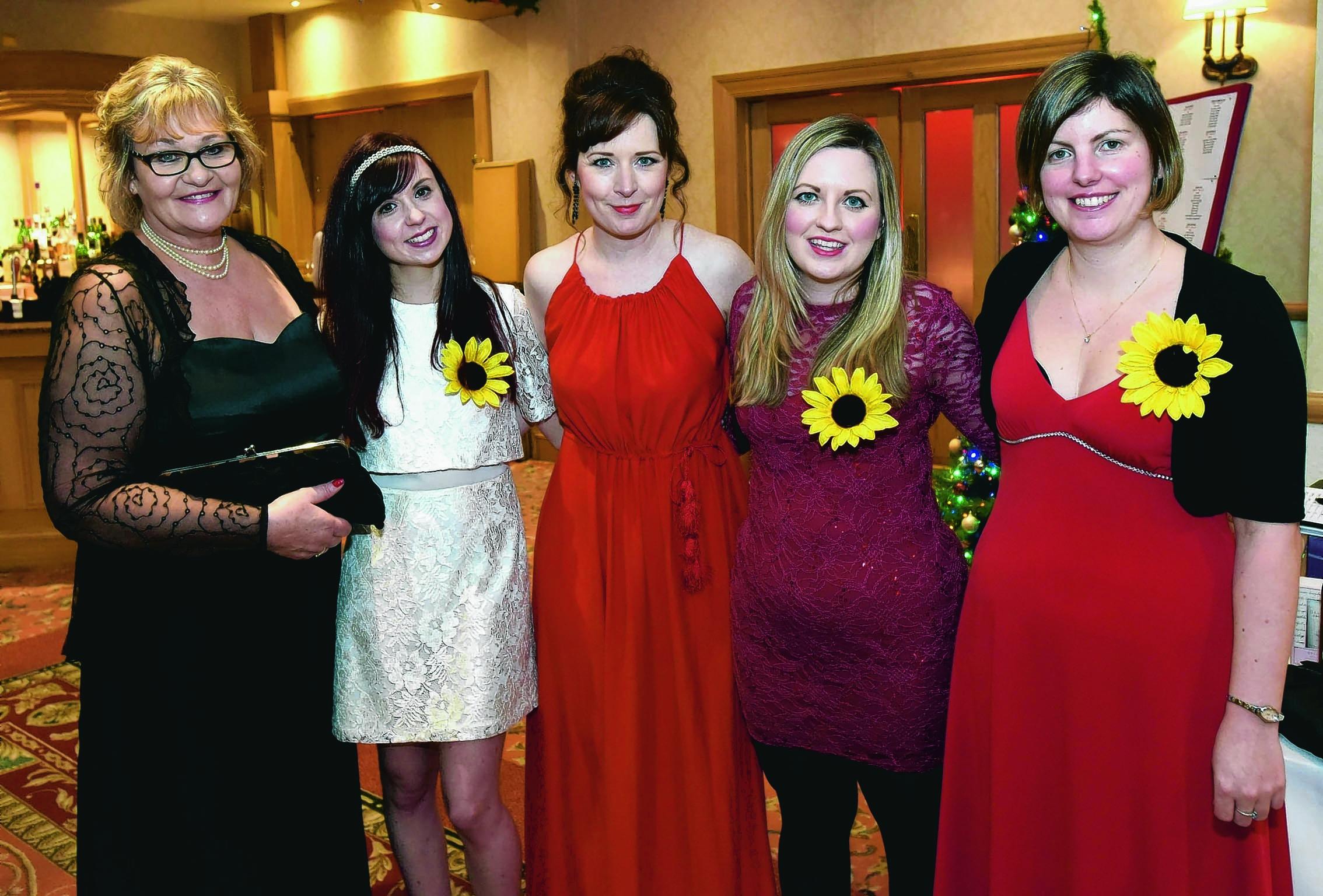 Linda MacDonald, Carrie MacIntyre, Nicola McAllay, Carola Highet and Amanda Burt.