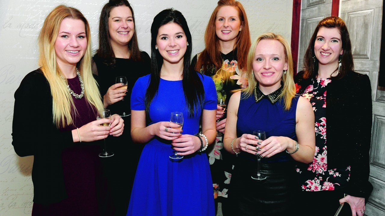 Kirsteen Watson, Tracy Cruickshank, Megan Naysmith, Kirsten Will, Michelle Forth and Claire Raper.