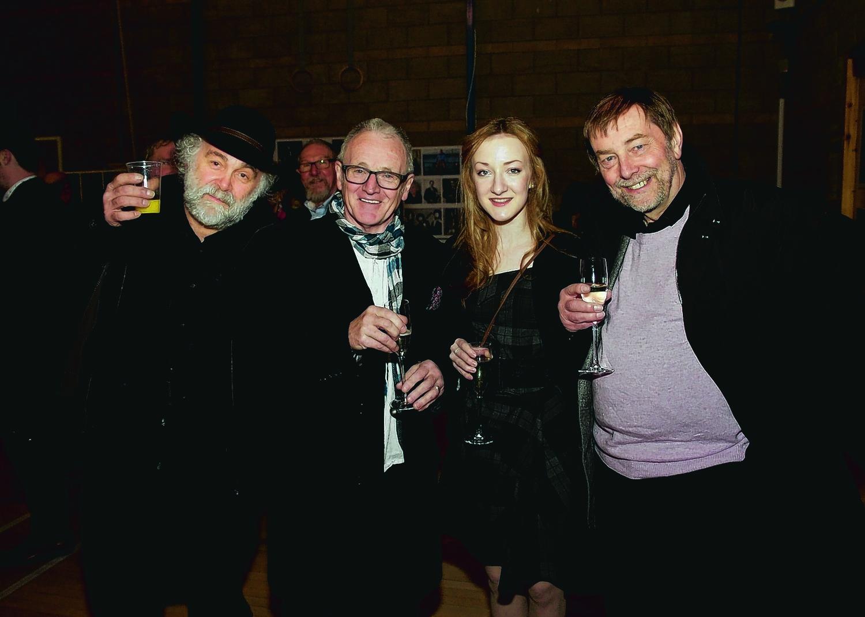 Graham Legge, Bob Sharp, Iona Fyfe & Garry Duncan