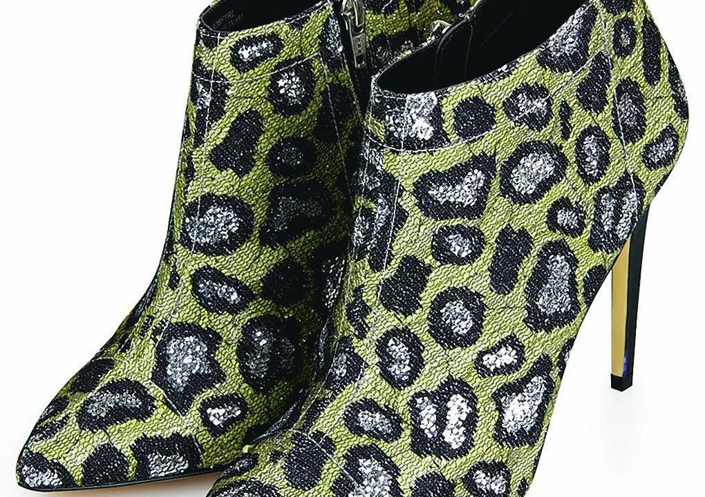 Topshop AHA Leopard Print Boots, £58
