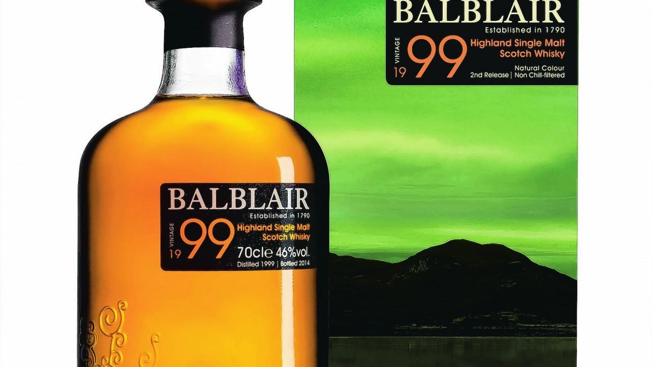 Balblair Vintage 1999 2nd Release Highland Single Malt