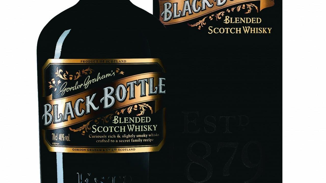 Gordon Grahams Black Bottle