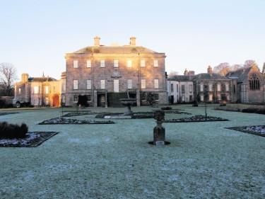 Haddo House, Aberdeenshire. January 2011.