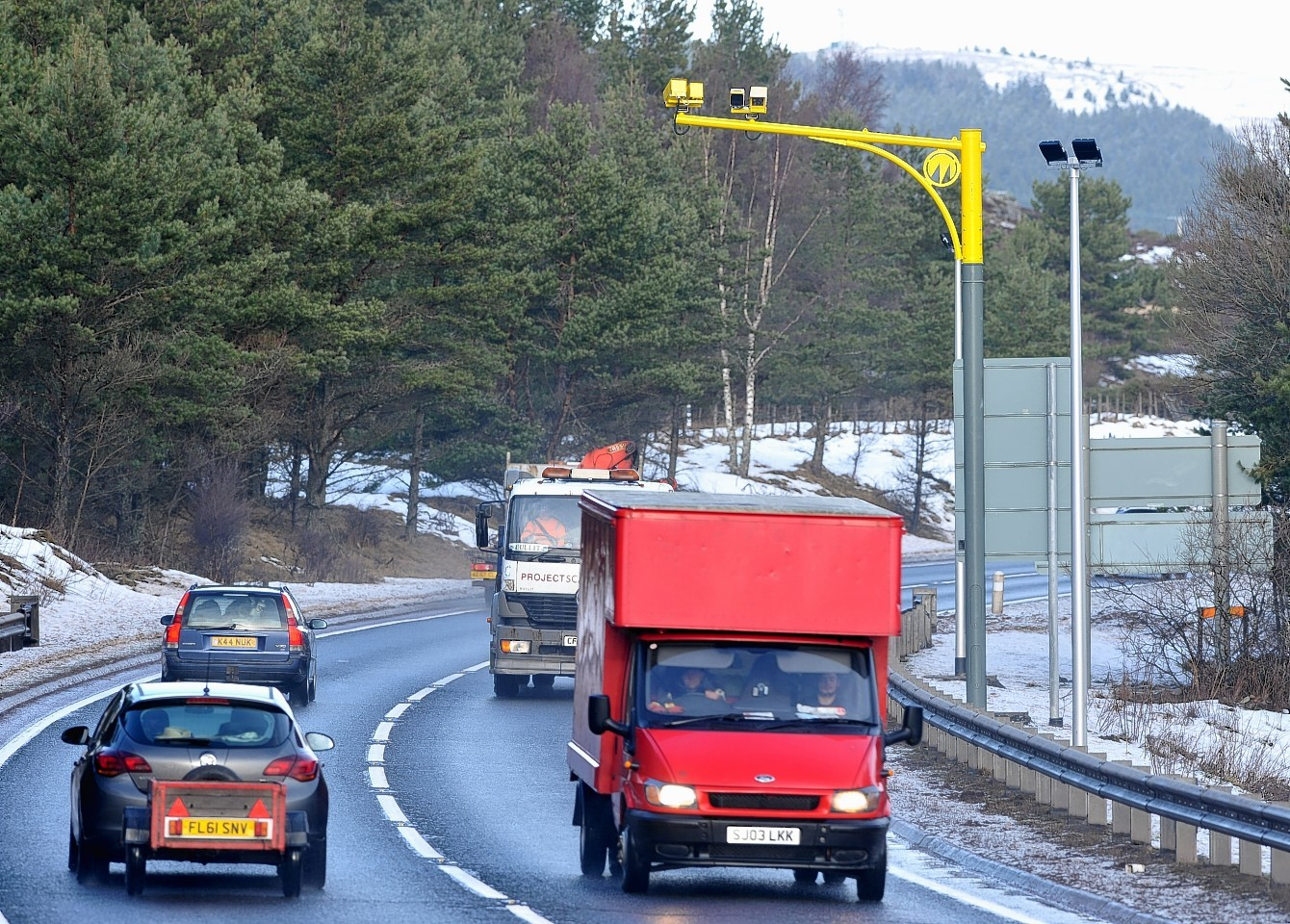 A9 average speed cameras