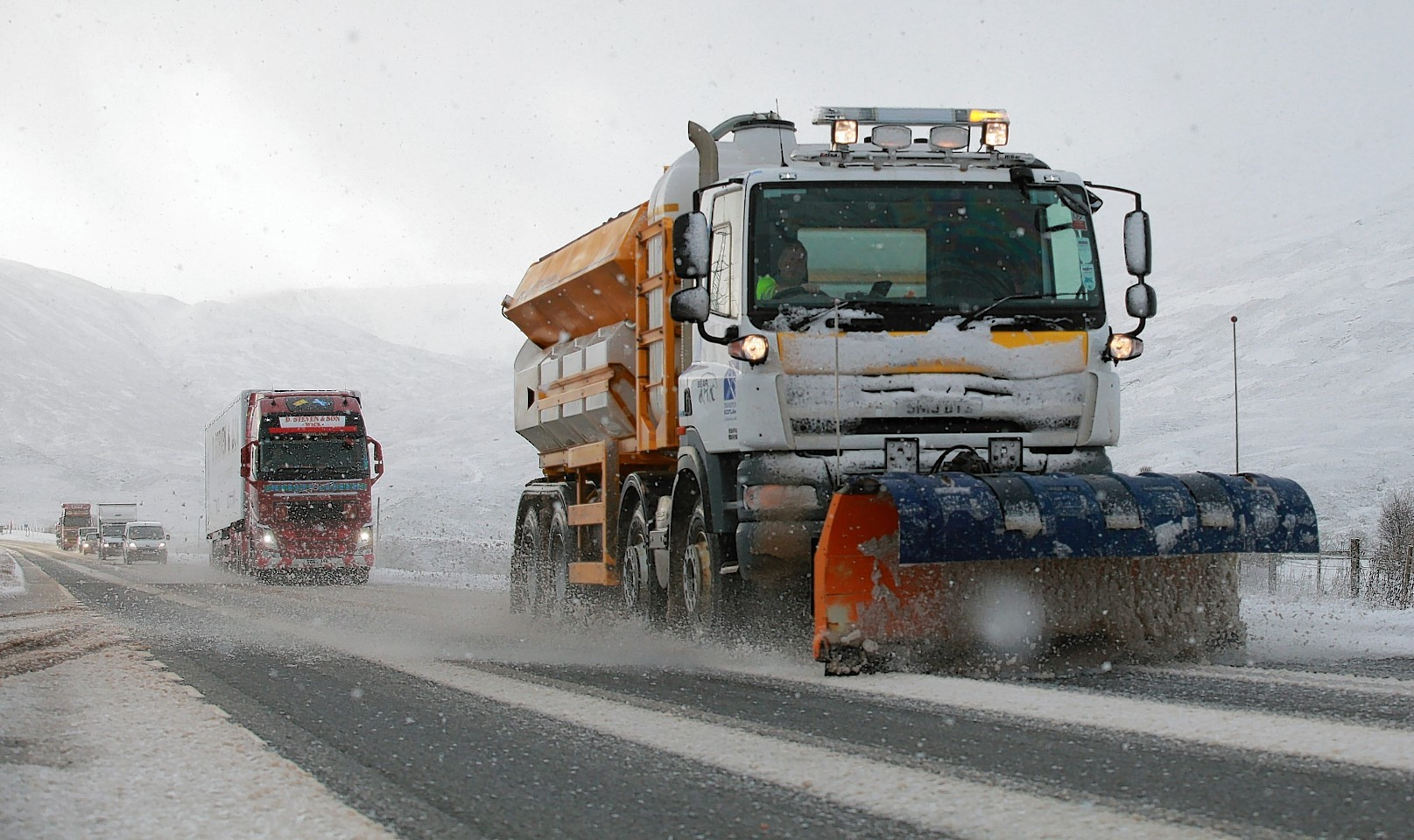 Weather is still affecting travel