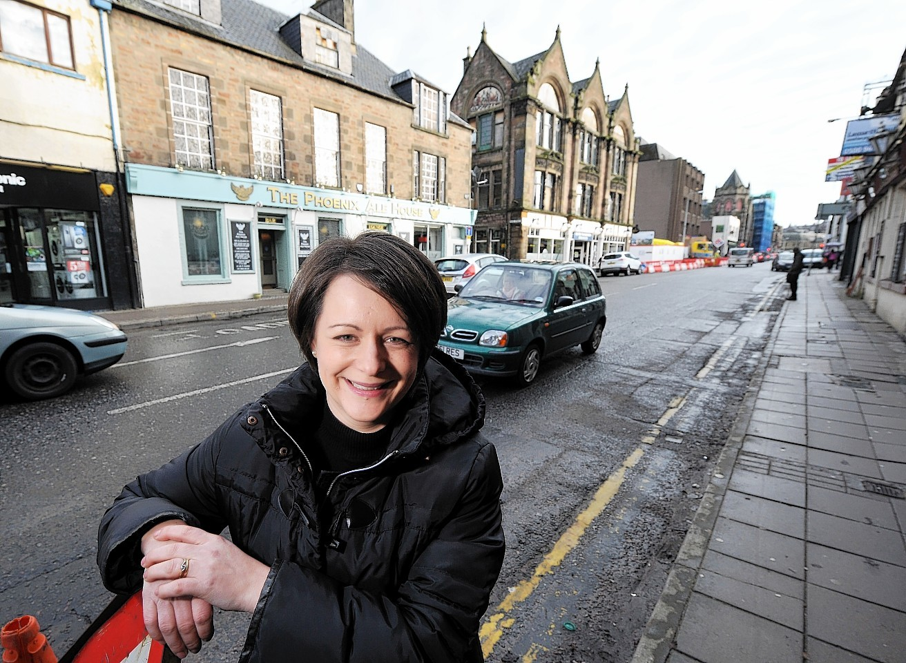 Lorna MacLennan on Academy Street