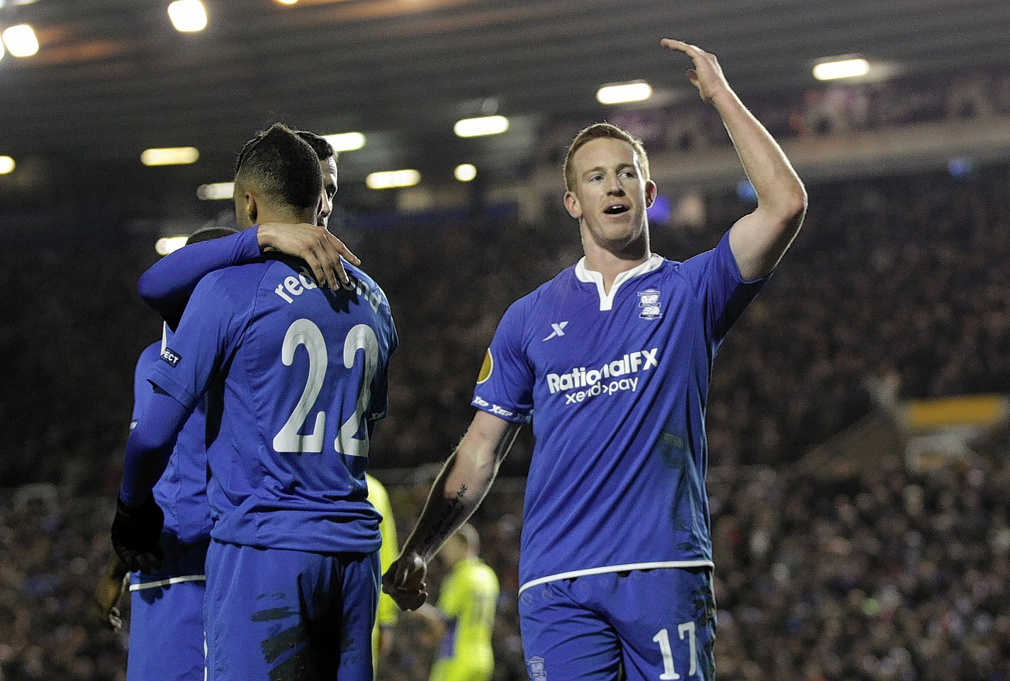 Adam Rooney struggled to find his goalscoring form during his short spell at Birmingham