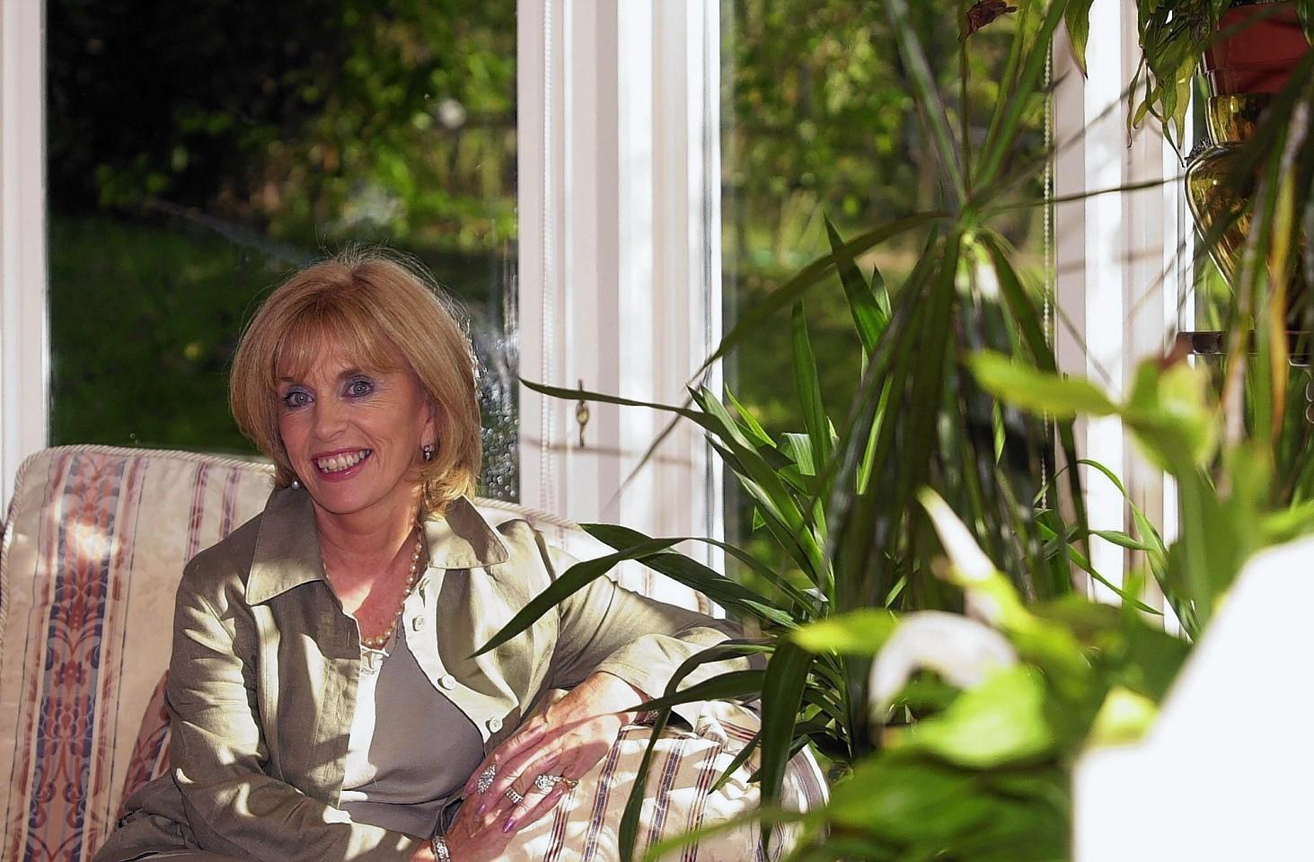 Ann Gloag in her Perthshire home