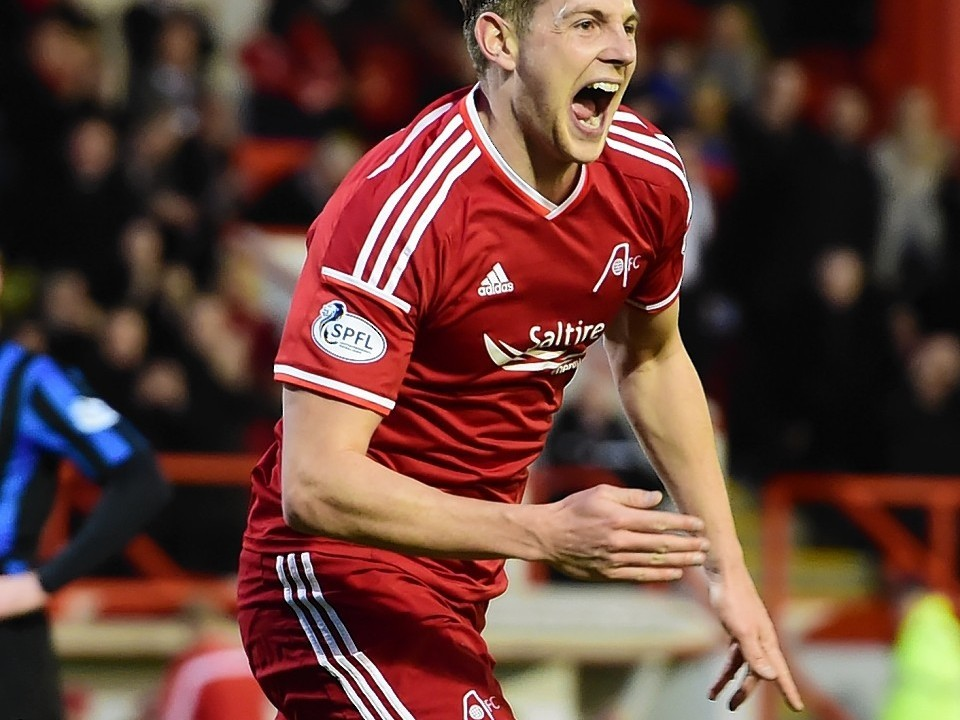 Ash Taylor: Scored the winner when the Dons defeated Motherwell 2-1 at Fir Park in August.