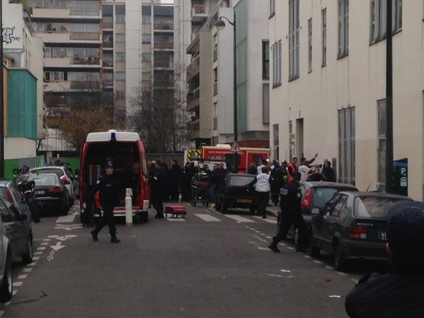 The scene in Paris, France