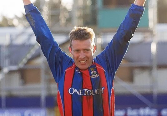 Former Caley Thistle winger Barry Wilson.