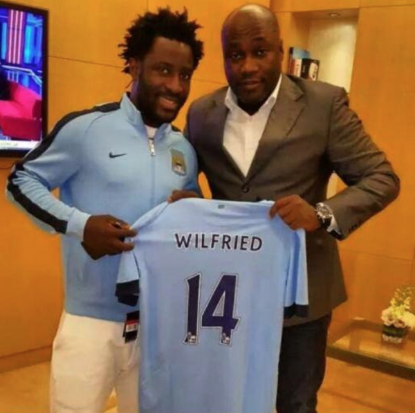 Bony poses with his new strip