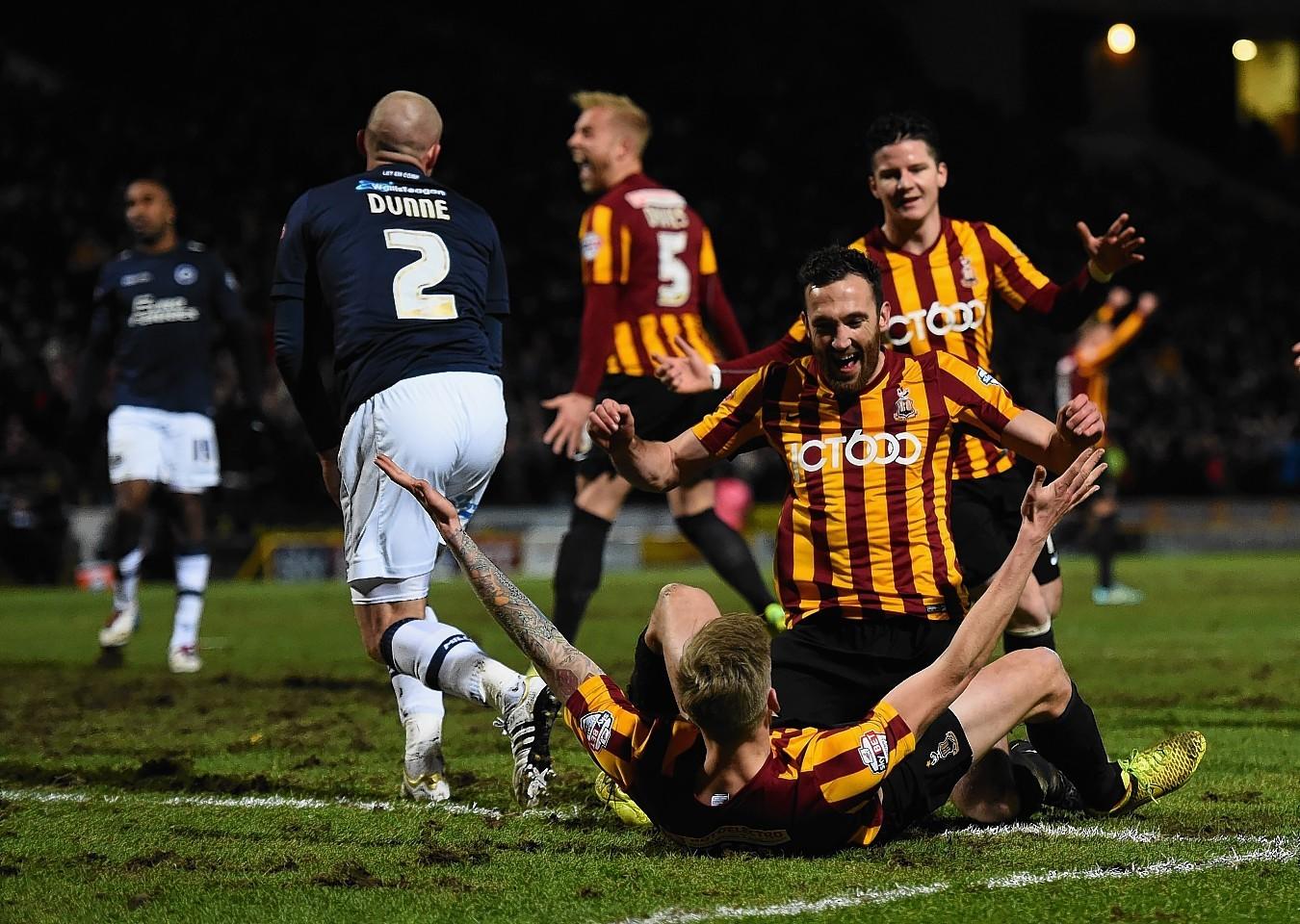 Bradford celebrate last night
