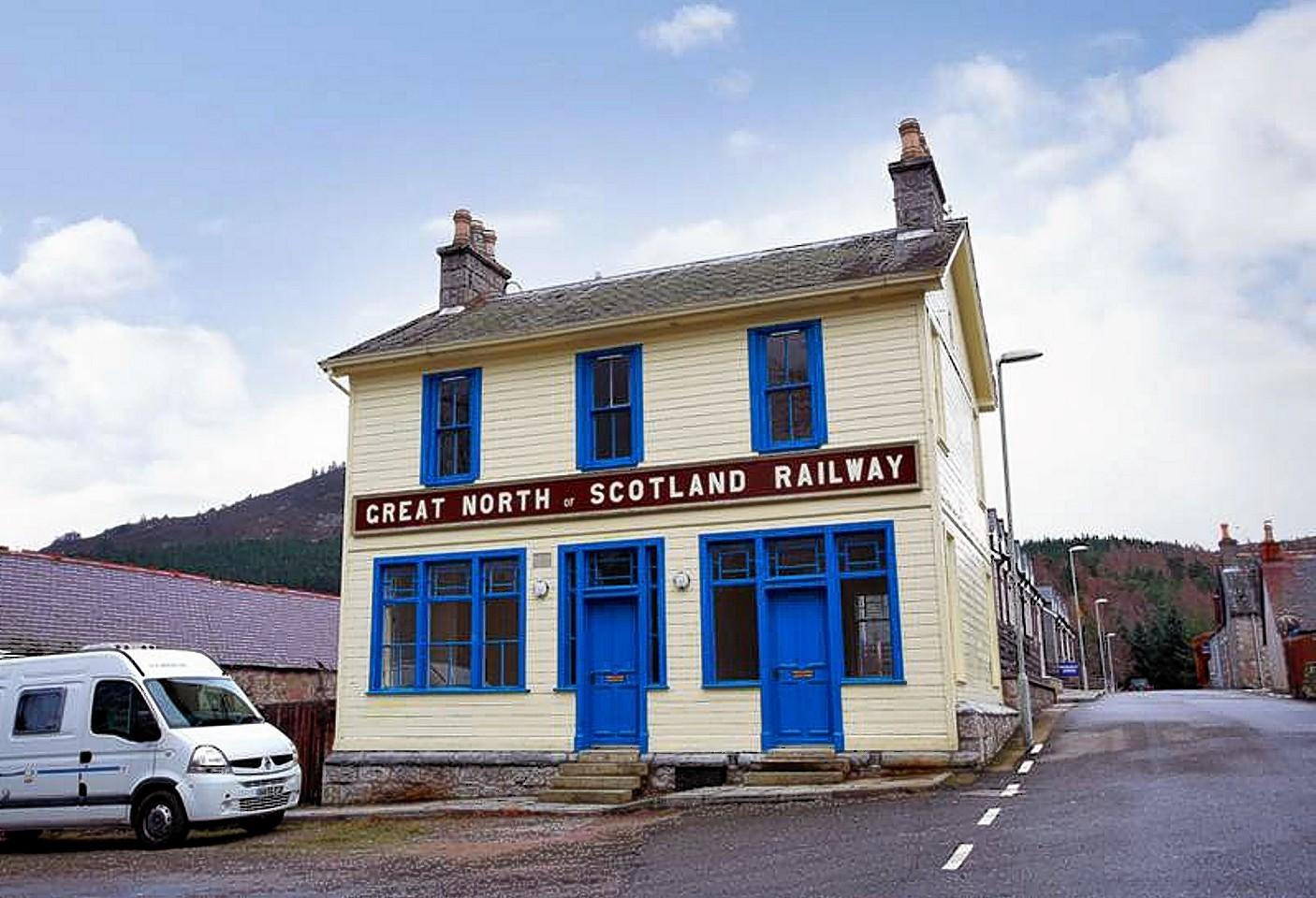 Braemar Omnibus Station as it now looks
