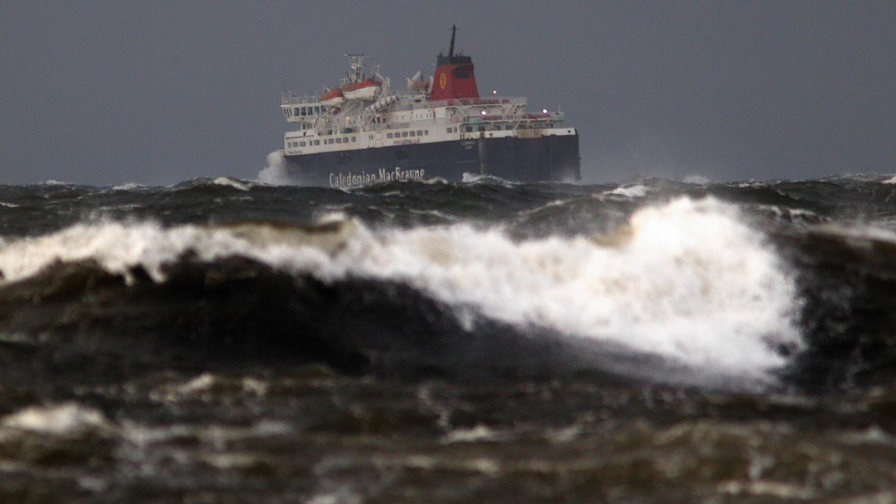 Disruption is expected on ferry services during Storm Abigail