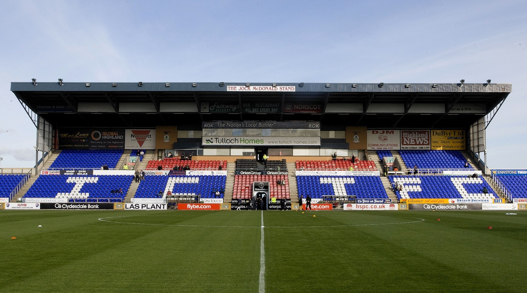 Caledonian Stadium, Inverness
