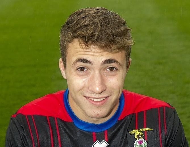 Elgin City forward Calum Ferguson.