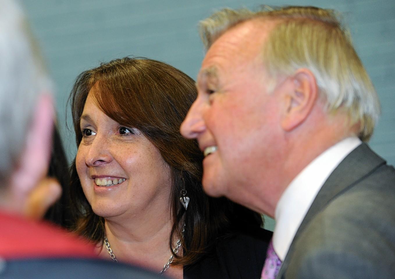 Christine Jardine and Sir Malcolm Bruce