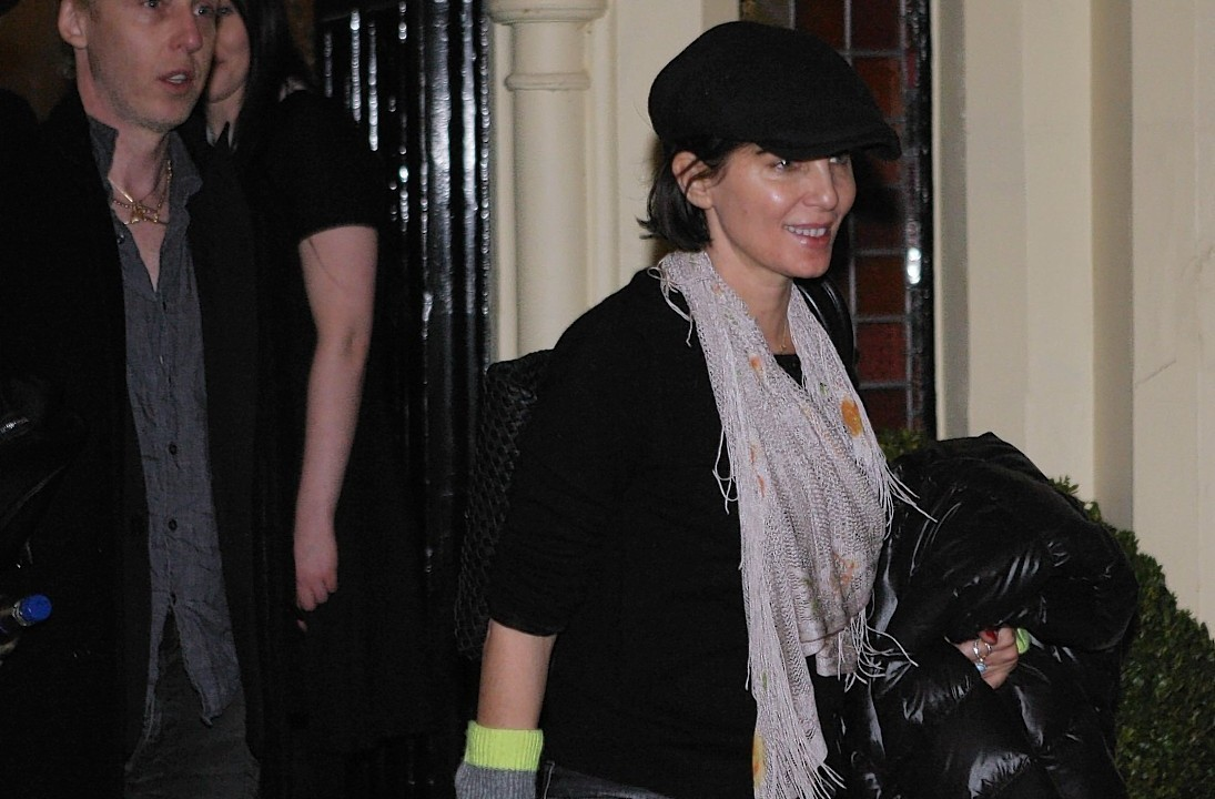 Sadie Frost was one of several celebrities at the party