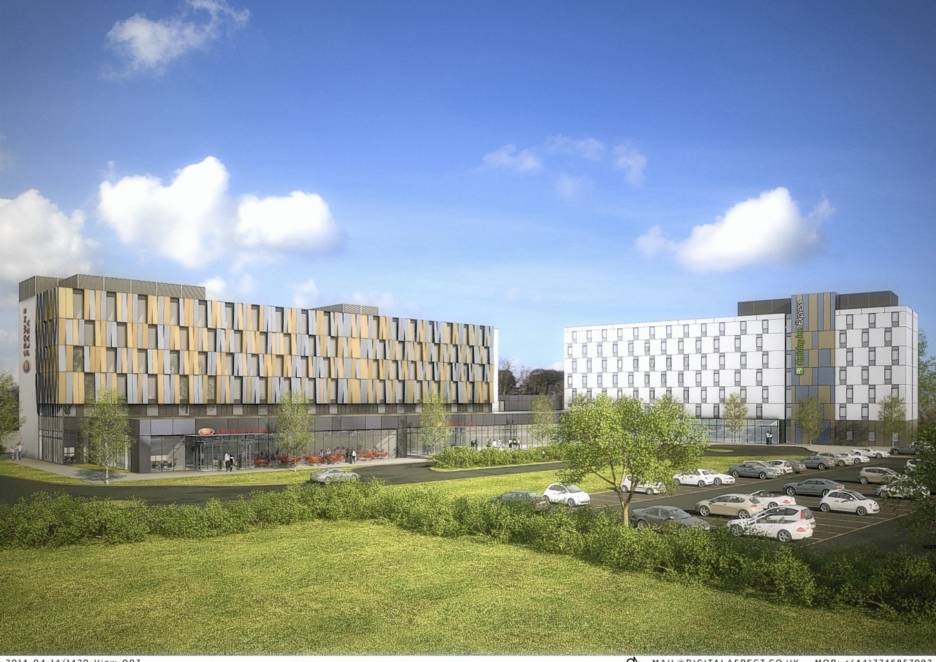 Two new hotels planned for Aberdeen Airport