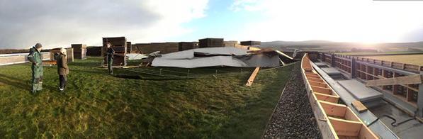 Damage at Culloden