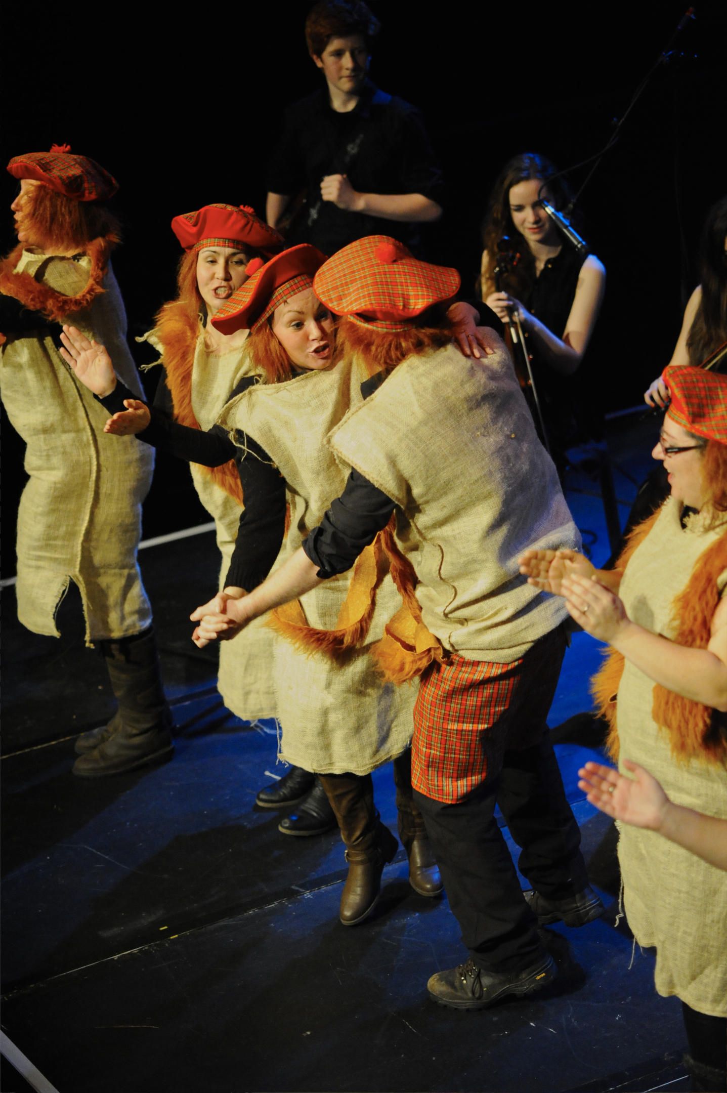 Dancing Haggis will take part in the Burns' night procession