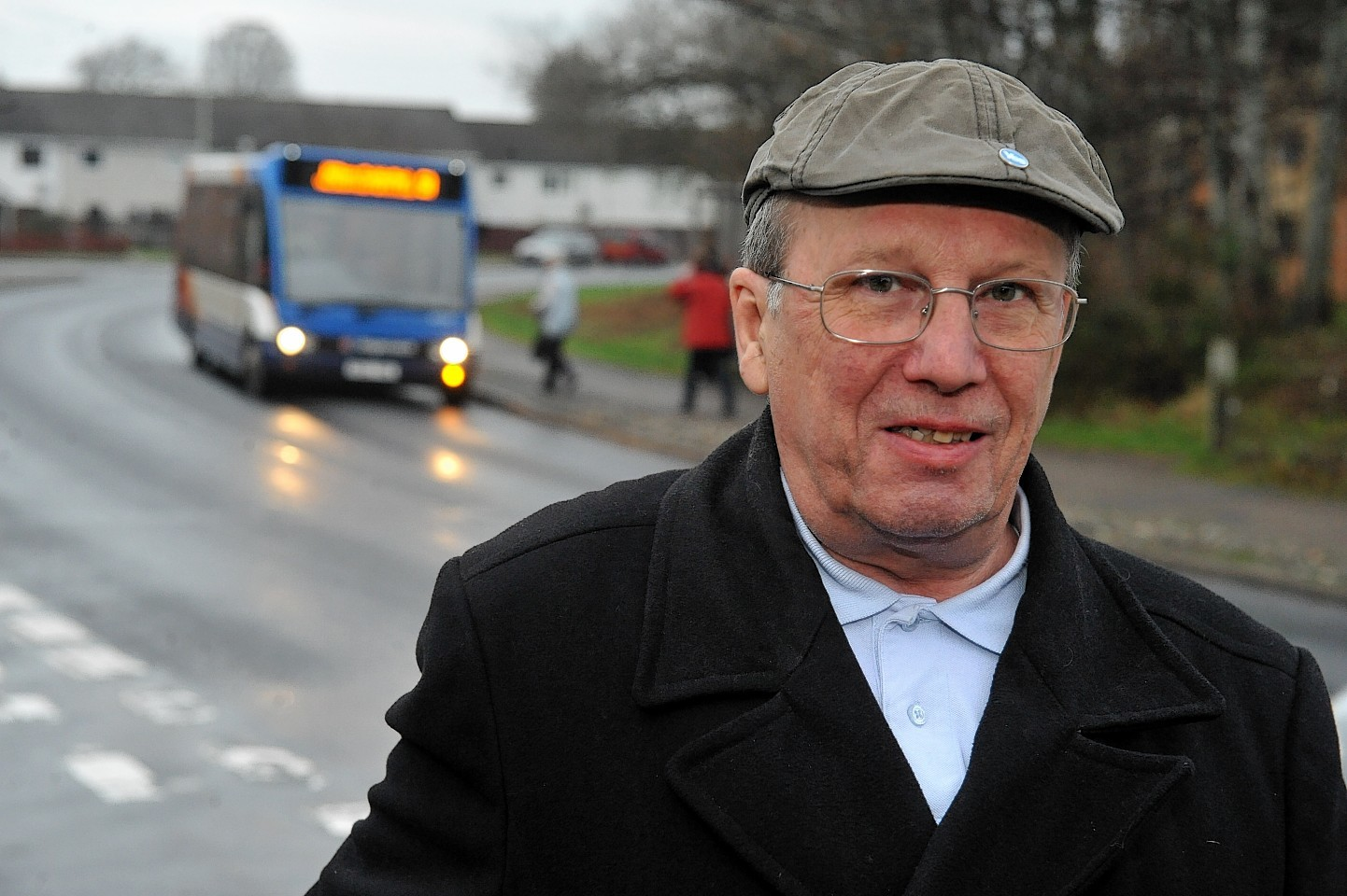 Community councillor David McGrath is jubilant at the prospect of better bus links to Raigmore Hospital.
