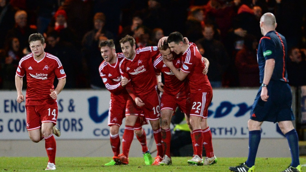 Three Aberdeen games have been selected for live TV