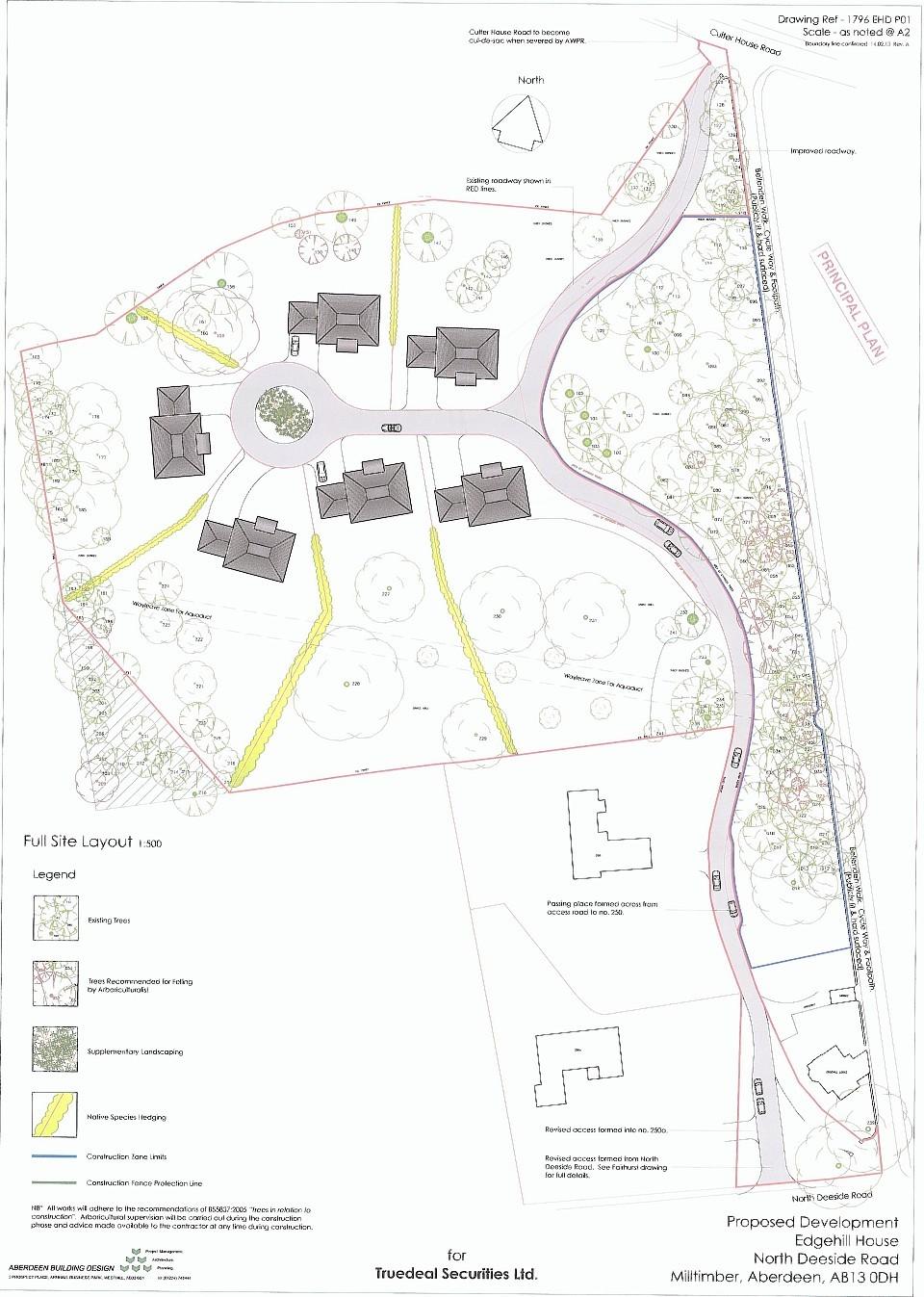 Plans for land on Edgehill House