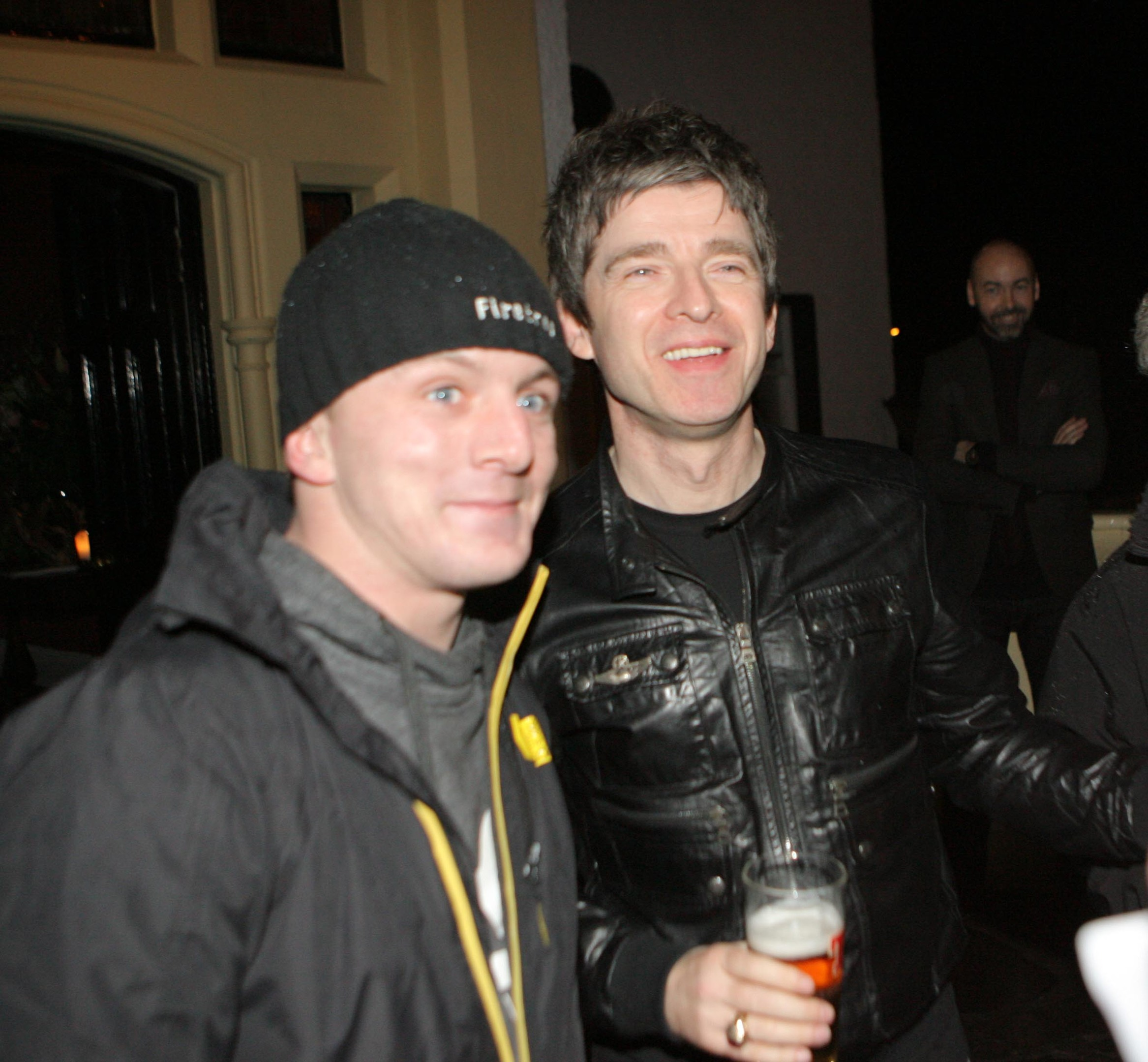 Calum Smith says he still hasn't come down from cloud nine after meeting his hero, Noel Gallagher