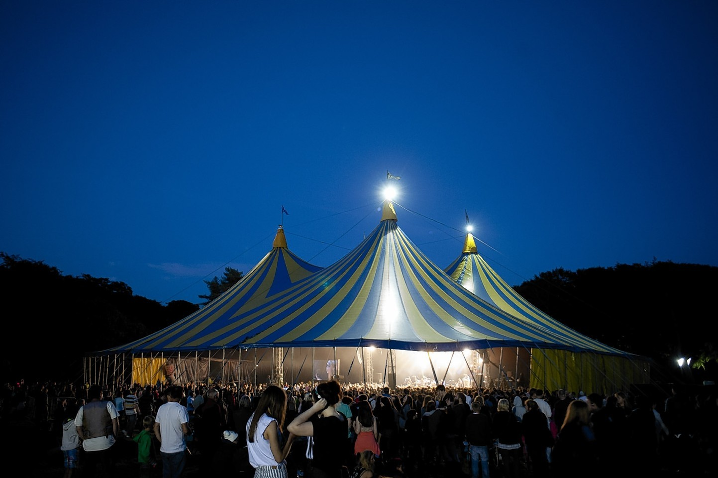The main arena at HebCelt