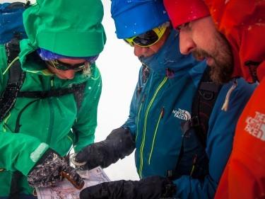 Regular navigation checks are vital to safe winter mountaineering