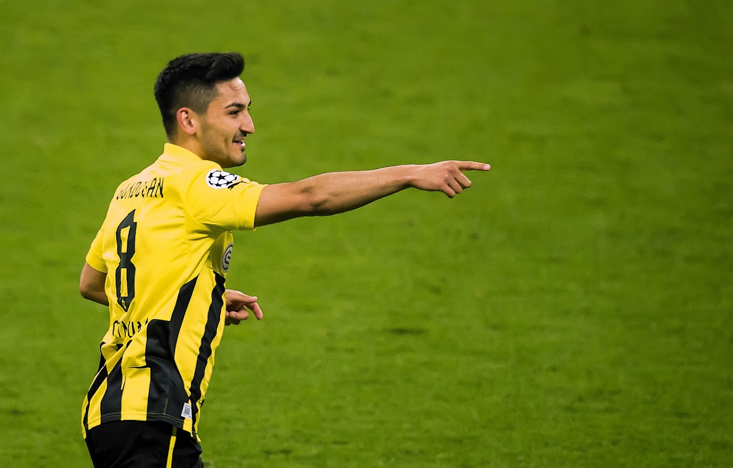 Highly rated German, Ilkay Gundogan, has been linked with a move to the English Premier League