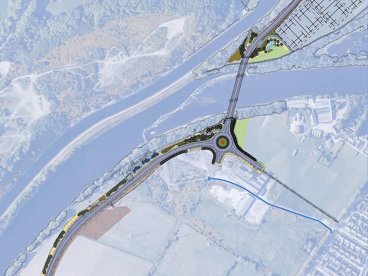 Inverness West Link Road plans