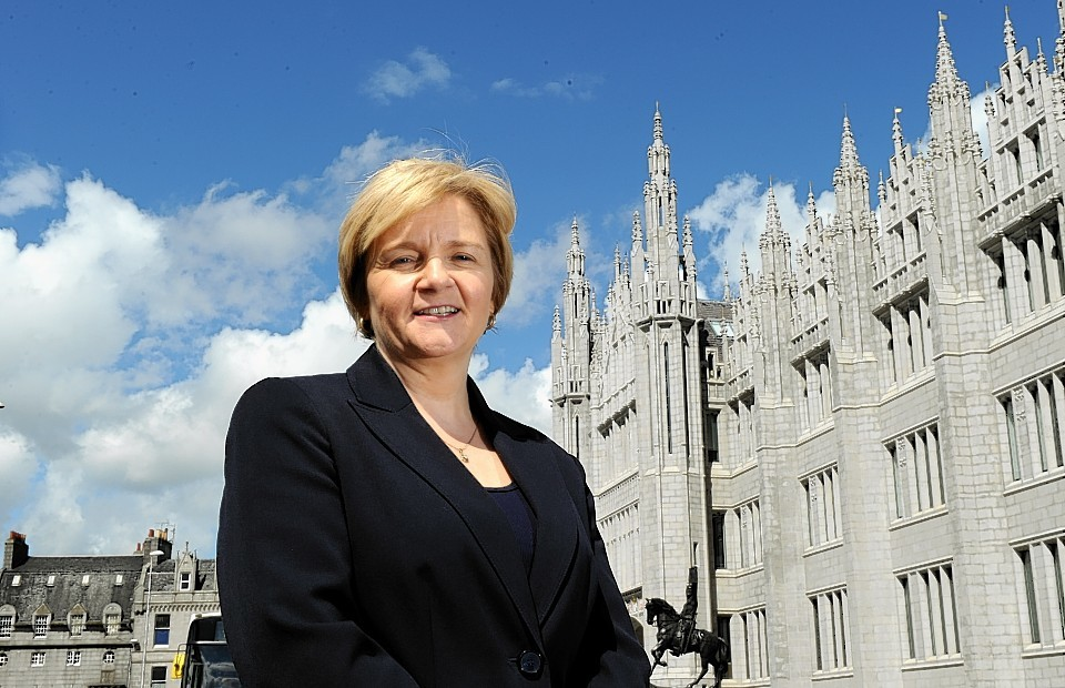 """Council leader Jenny Laing insists it's """"business as usual"""" for the coalition"""