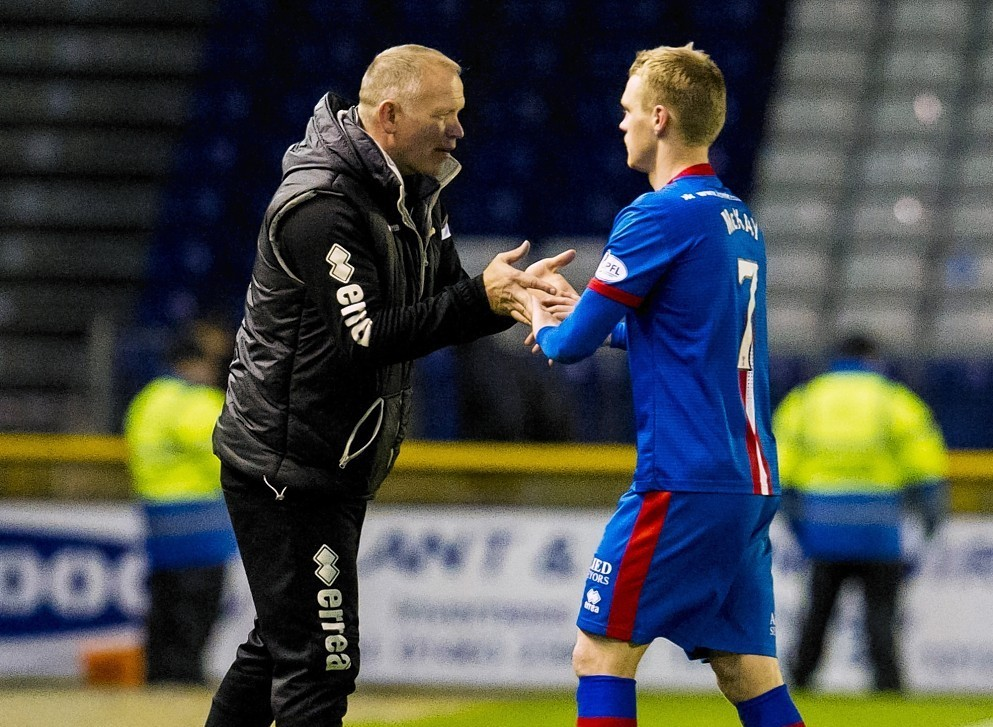 McKay played under Hughes at Caley Thistle