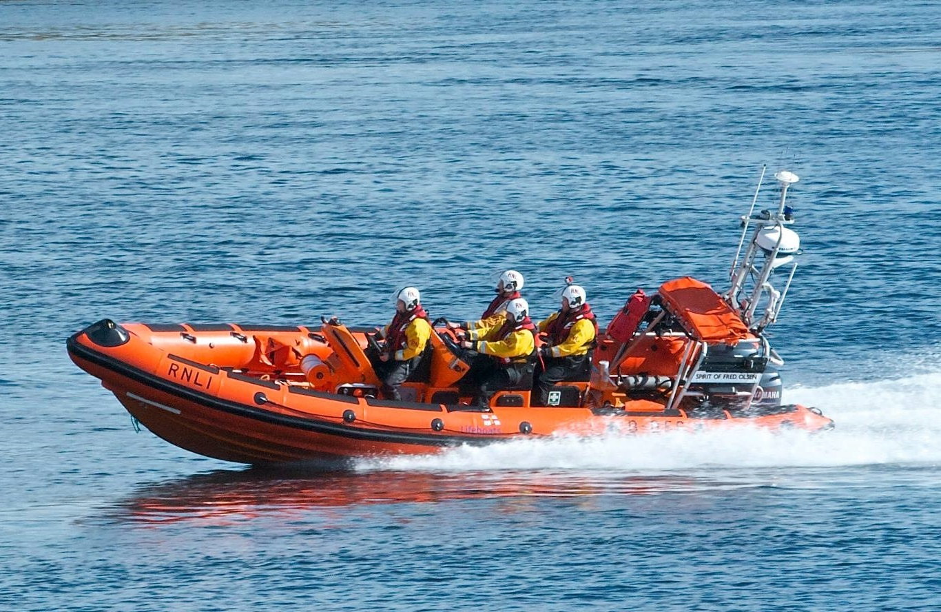 Kyle of Lochalsh lifeboat