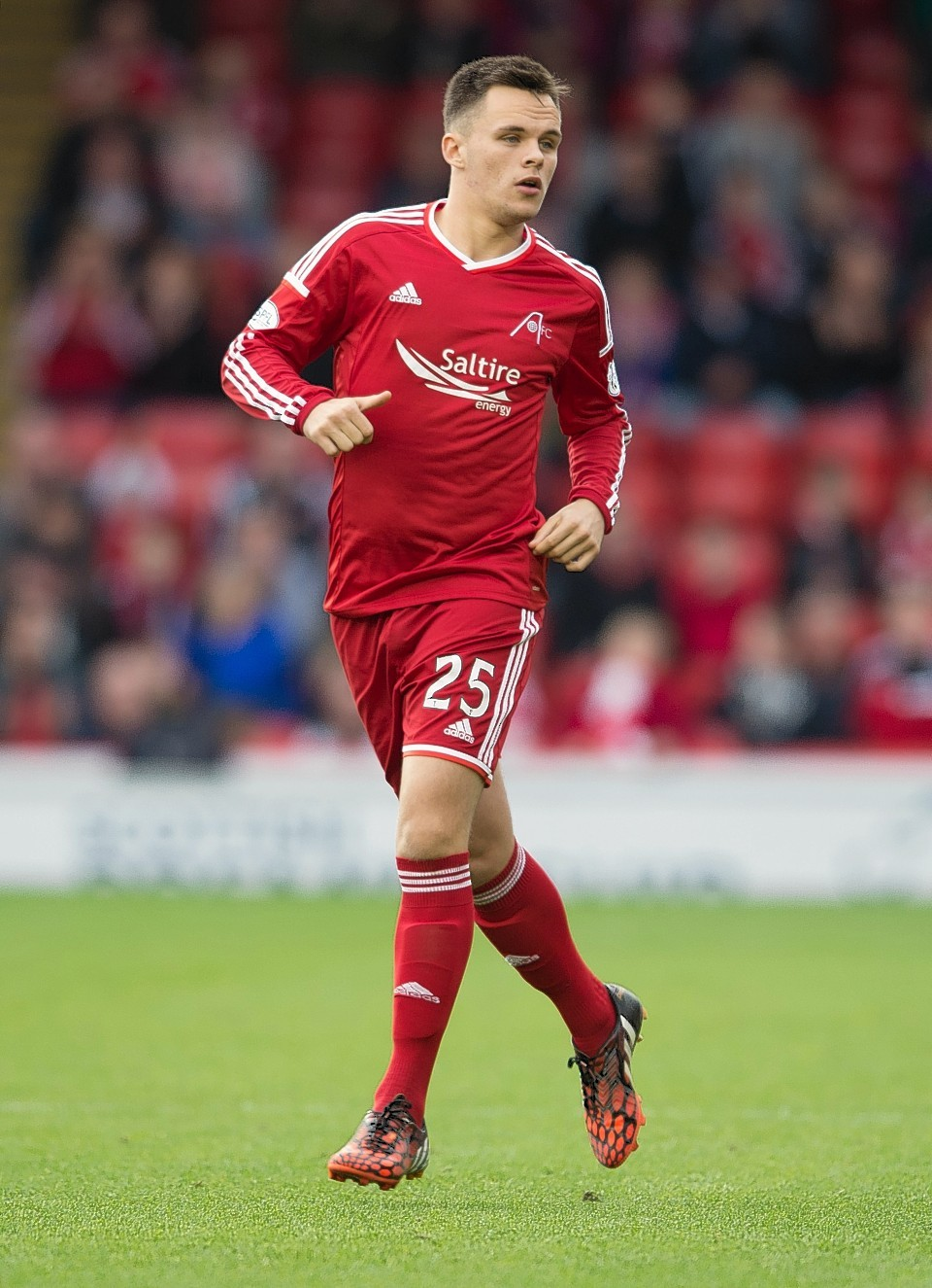 Lawrence Shankland has impressed for the Dons youths