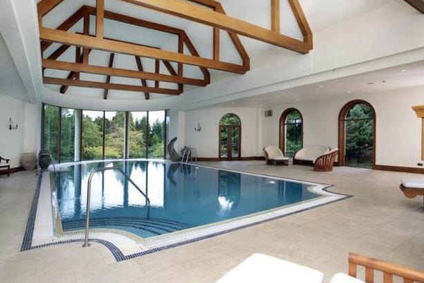 The grand swimming pool