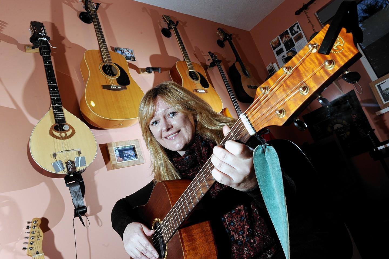 Guitarist and music teacher Leighann Esslemont
